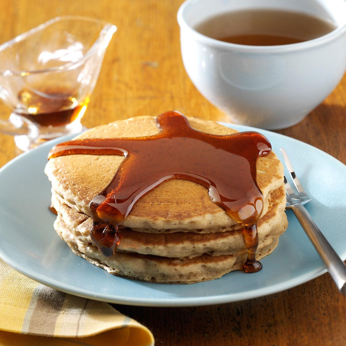 Easy gingerbread pancakes recipe taste of home ccuart Gallery