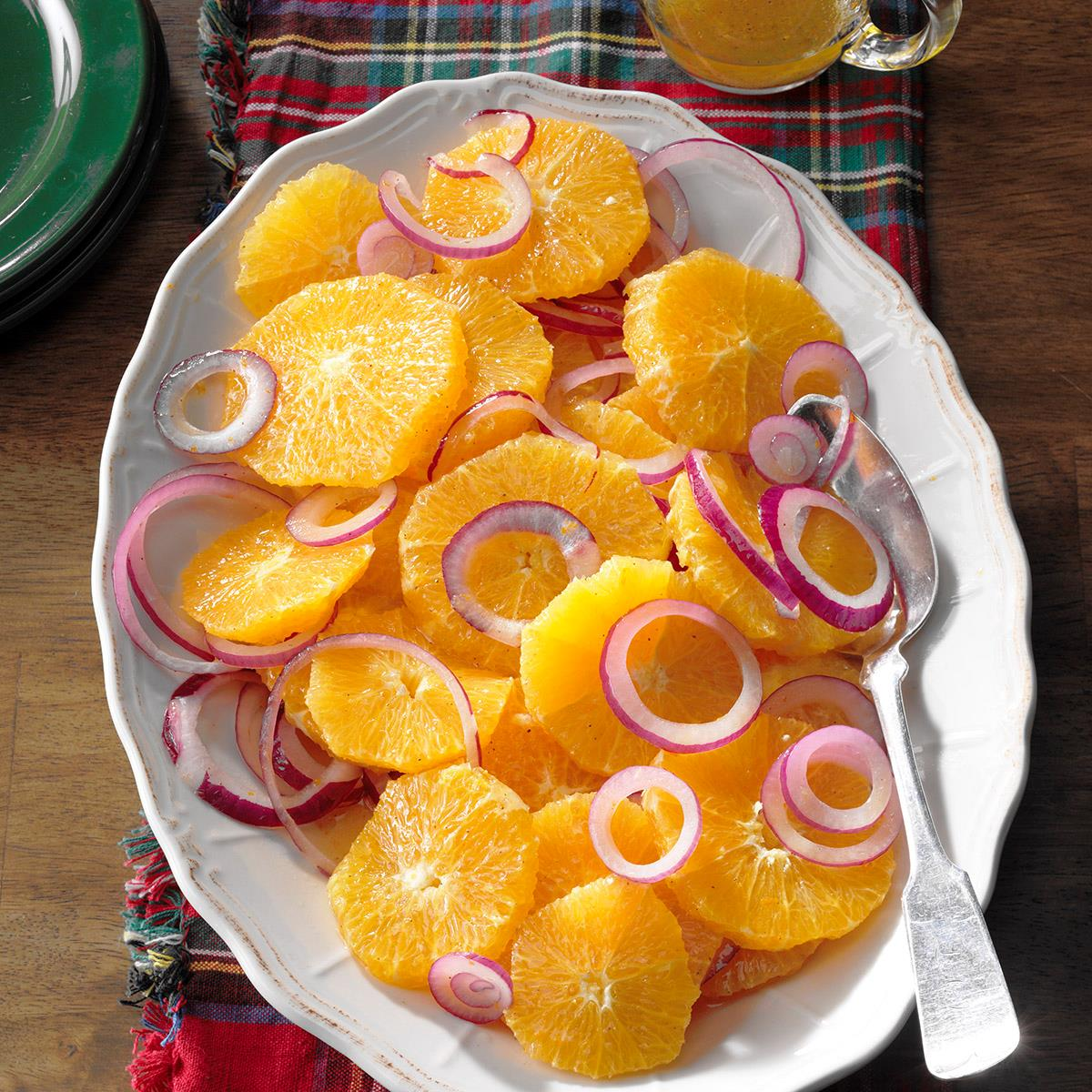 Easy orange and red onion salad recipe taste of home forumfinder Image collections