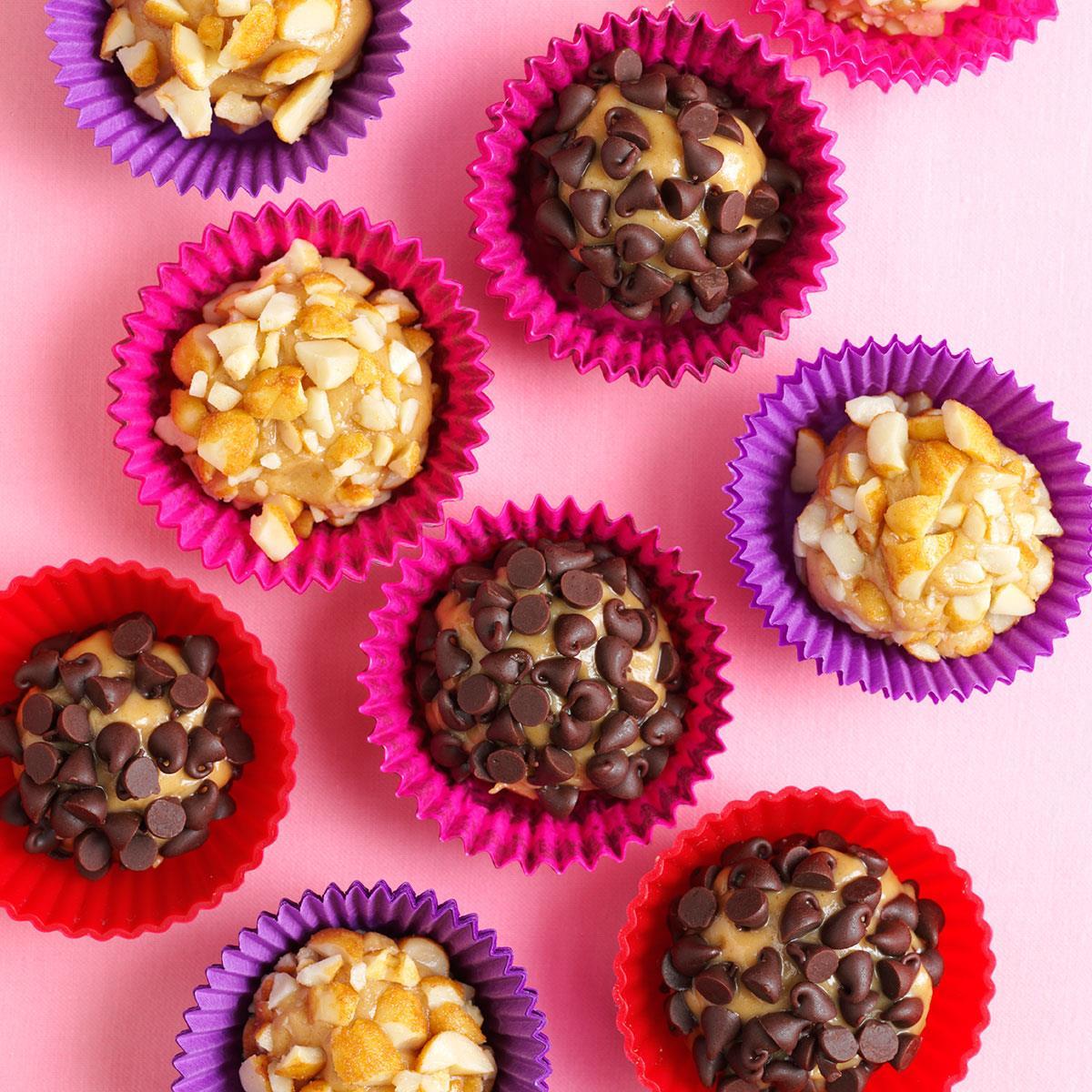 Easy Peanut Butter Truffles Recipe Taste Of Home
