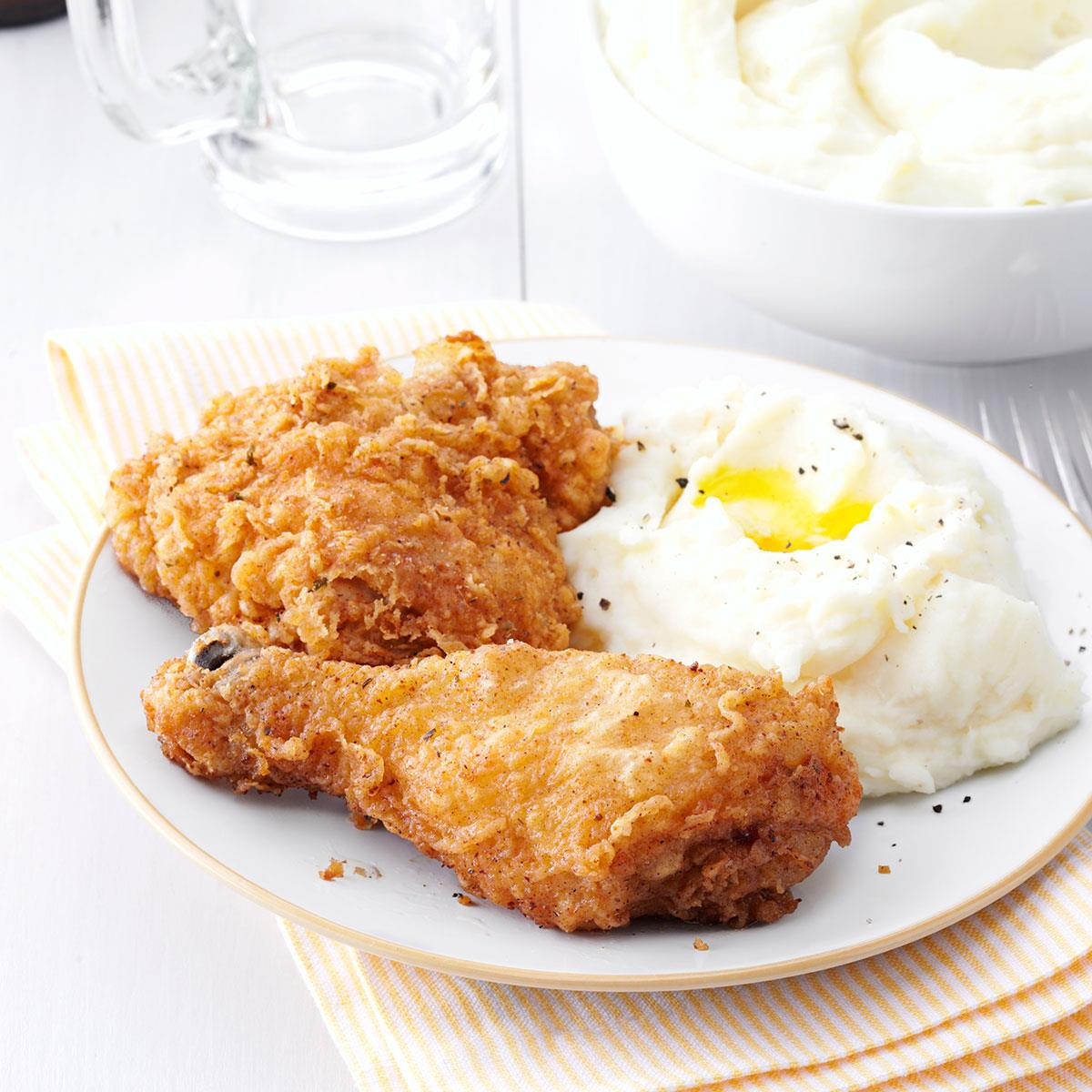 Fried chicken - a favorite family dish 65