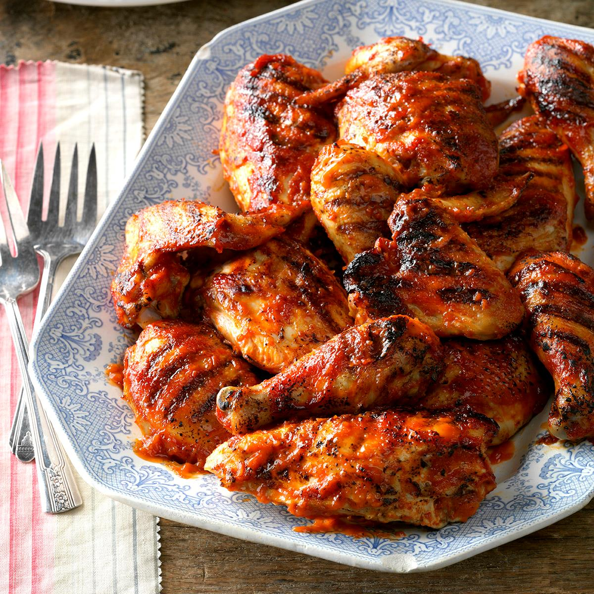 Favorite Barbecued Chicken Recipe Taste Of Home