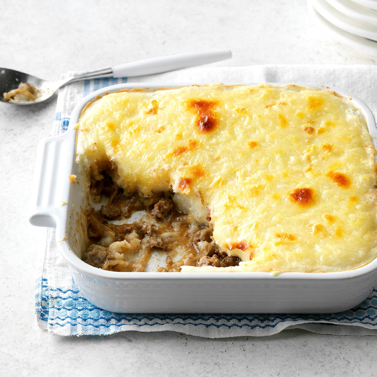 French Onion Shepherd's Pie