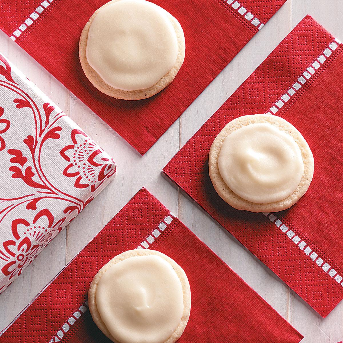 Frosted Eggnog Cookies Recipe | Taste of Home