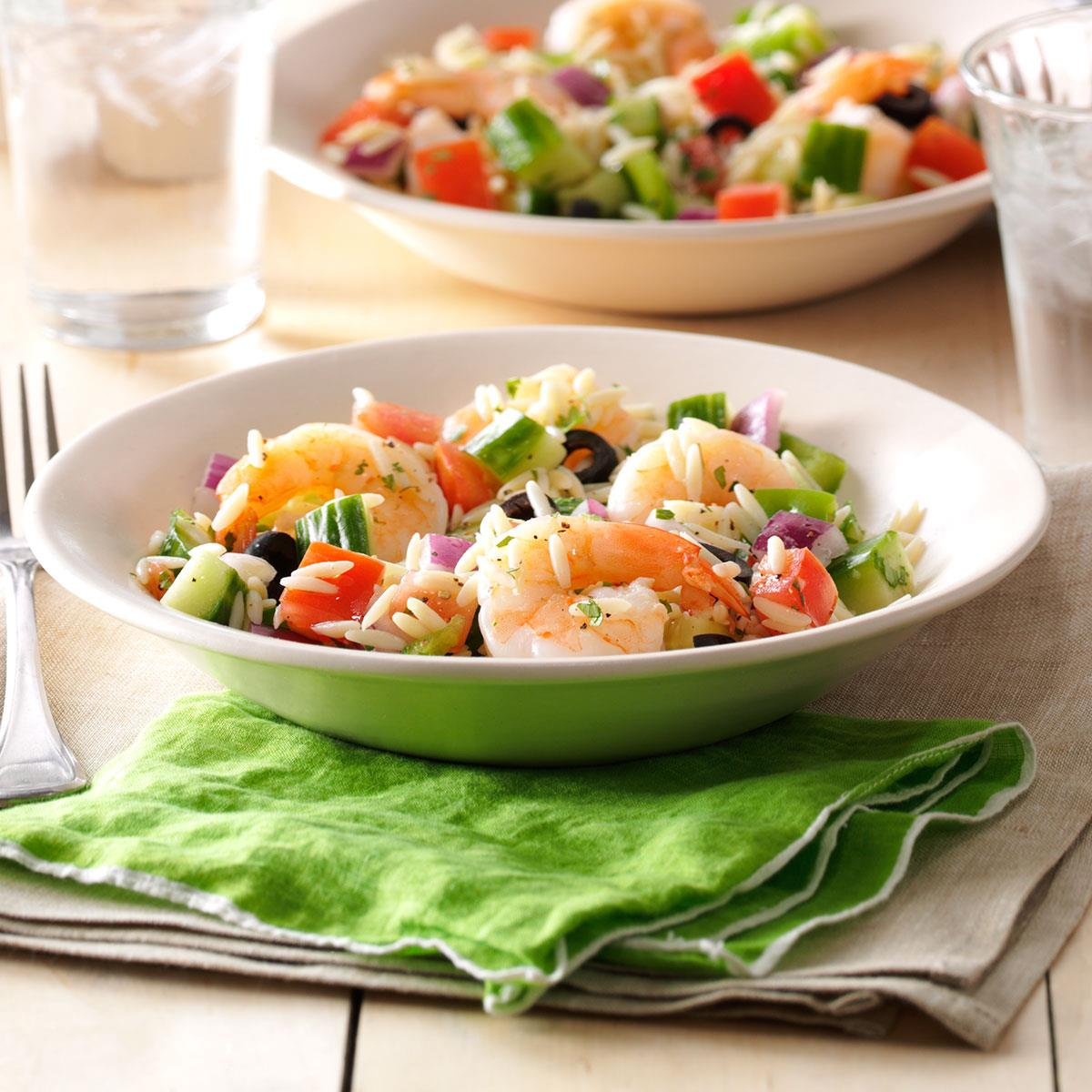 foto Summer Orzo with Shrimp