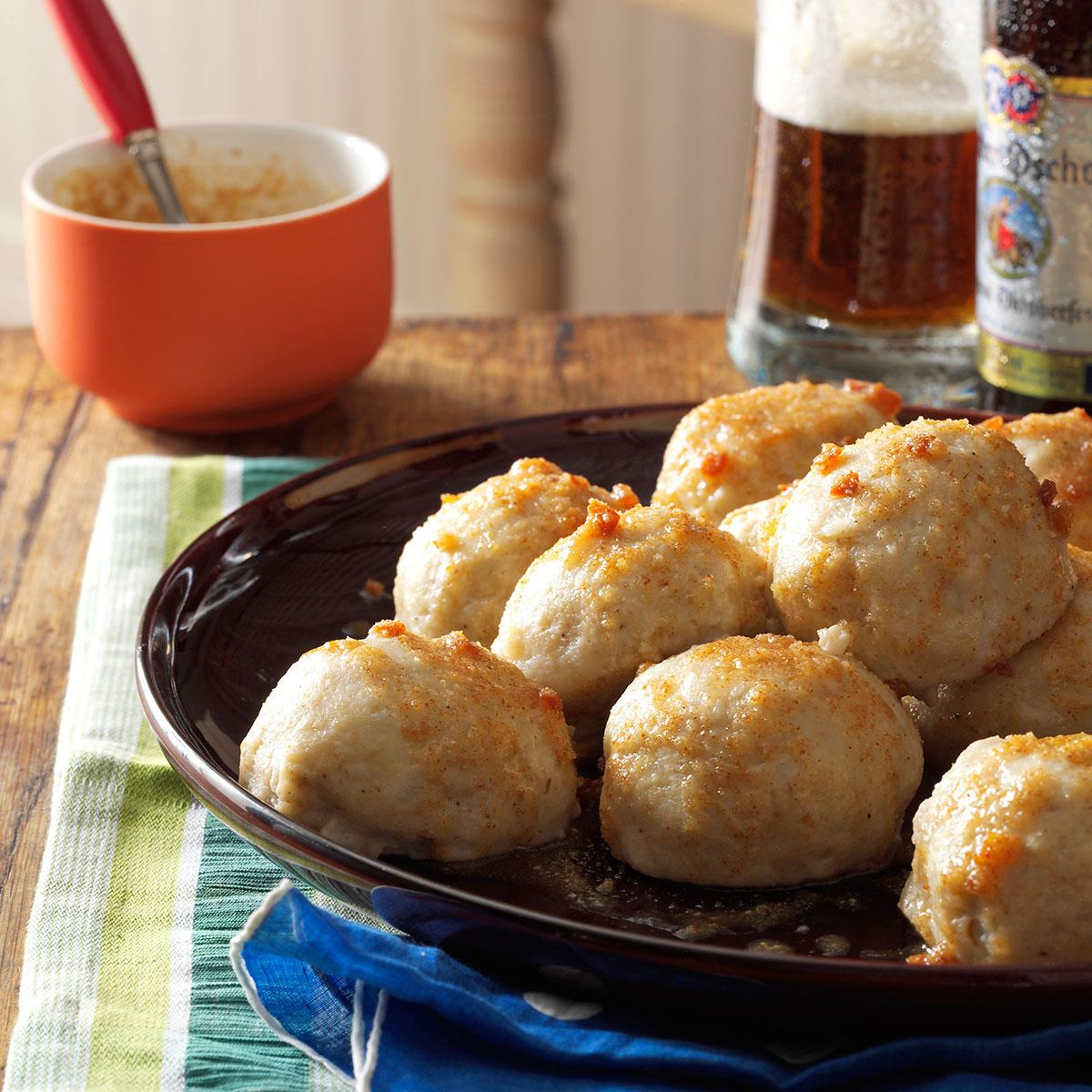 The recipe for delicious dumplings with potatoes 97