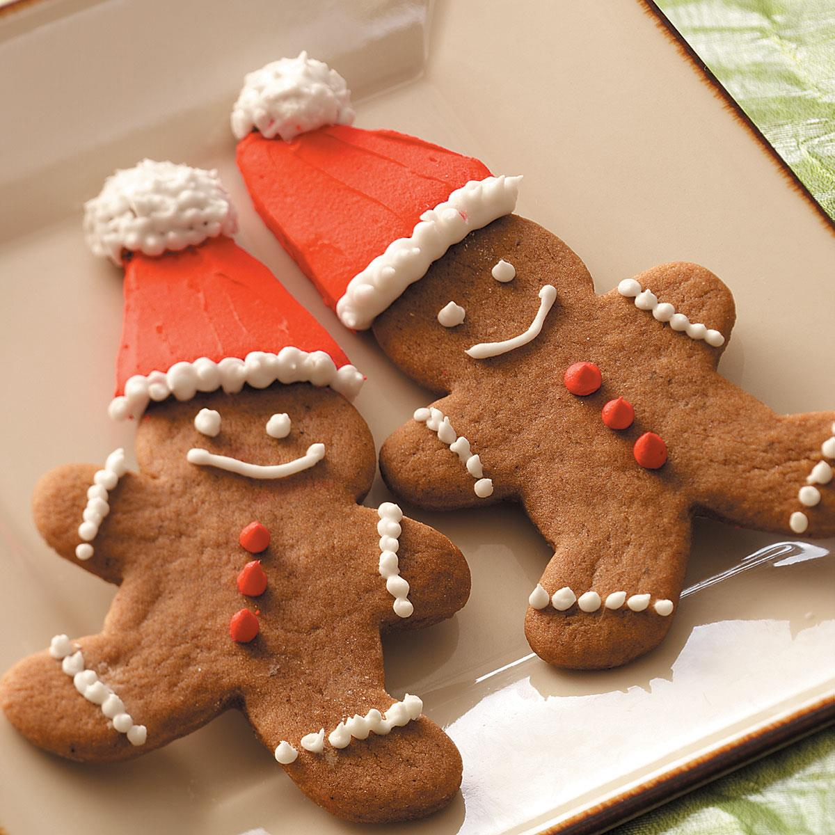 Gingerbread Cookie Cutouts Recipe Taste Of Home