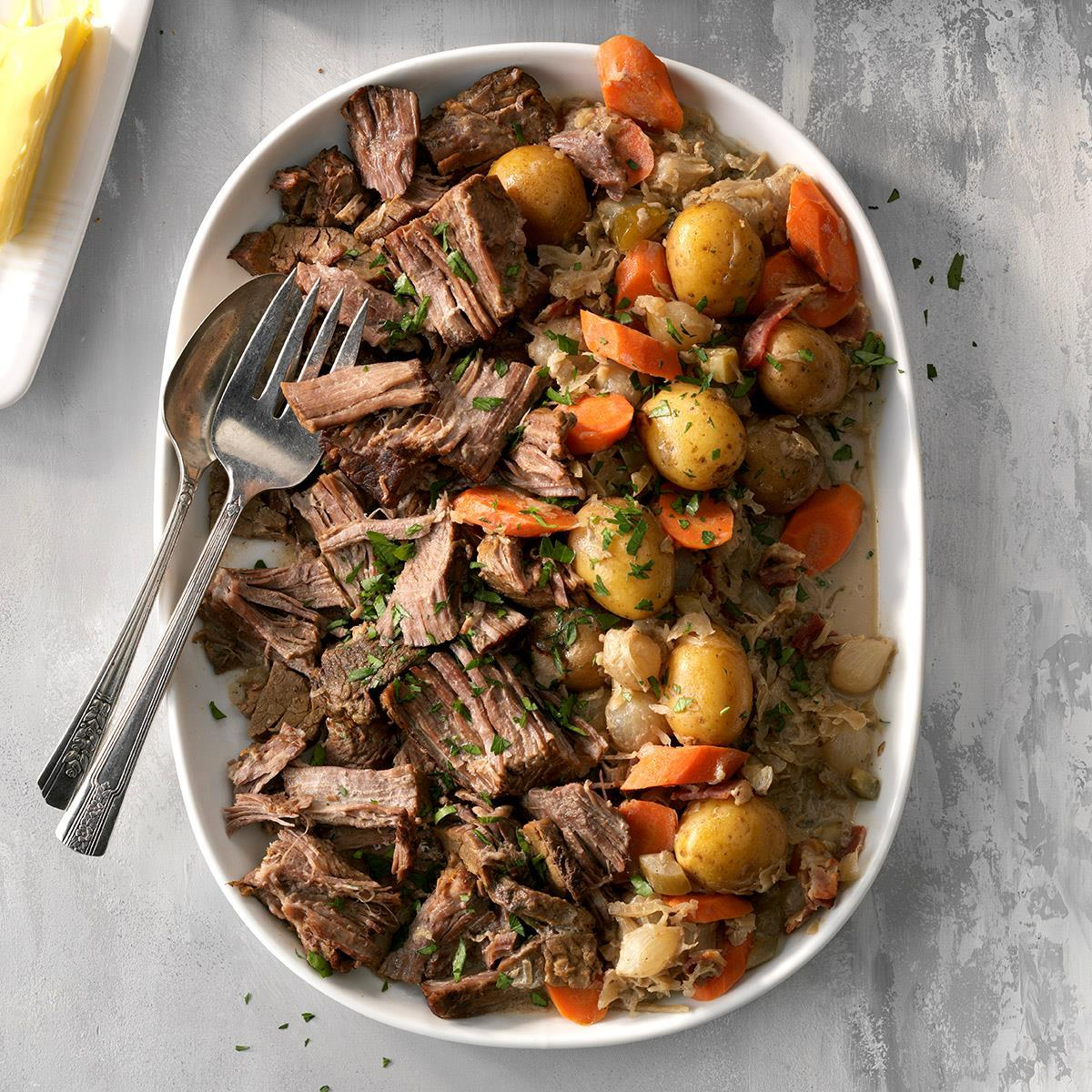 Grampa's German-Style Pot Roast