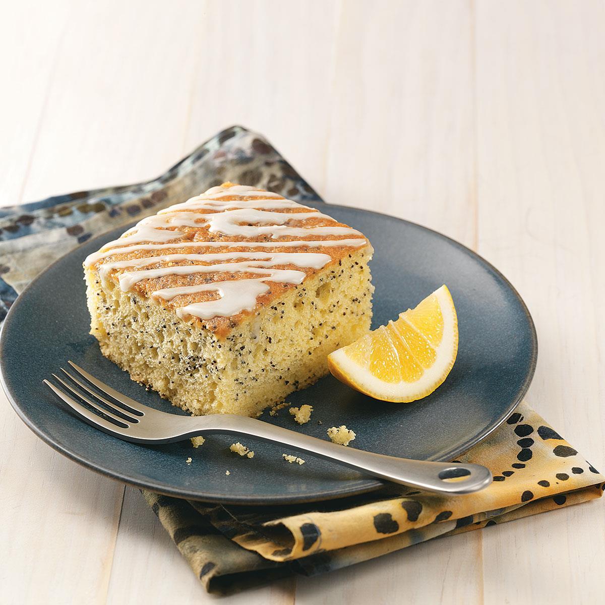 Grandma S Lemon Poppy Seed Cake Recipe Taste Of Home