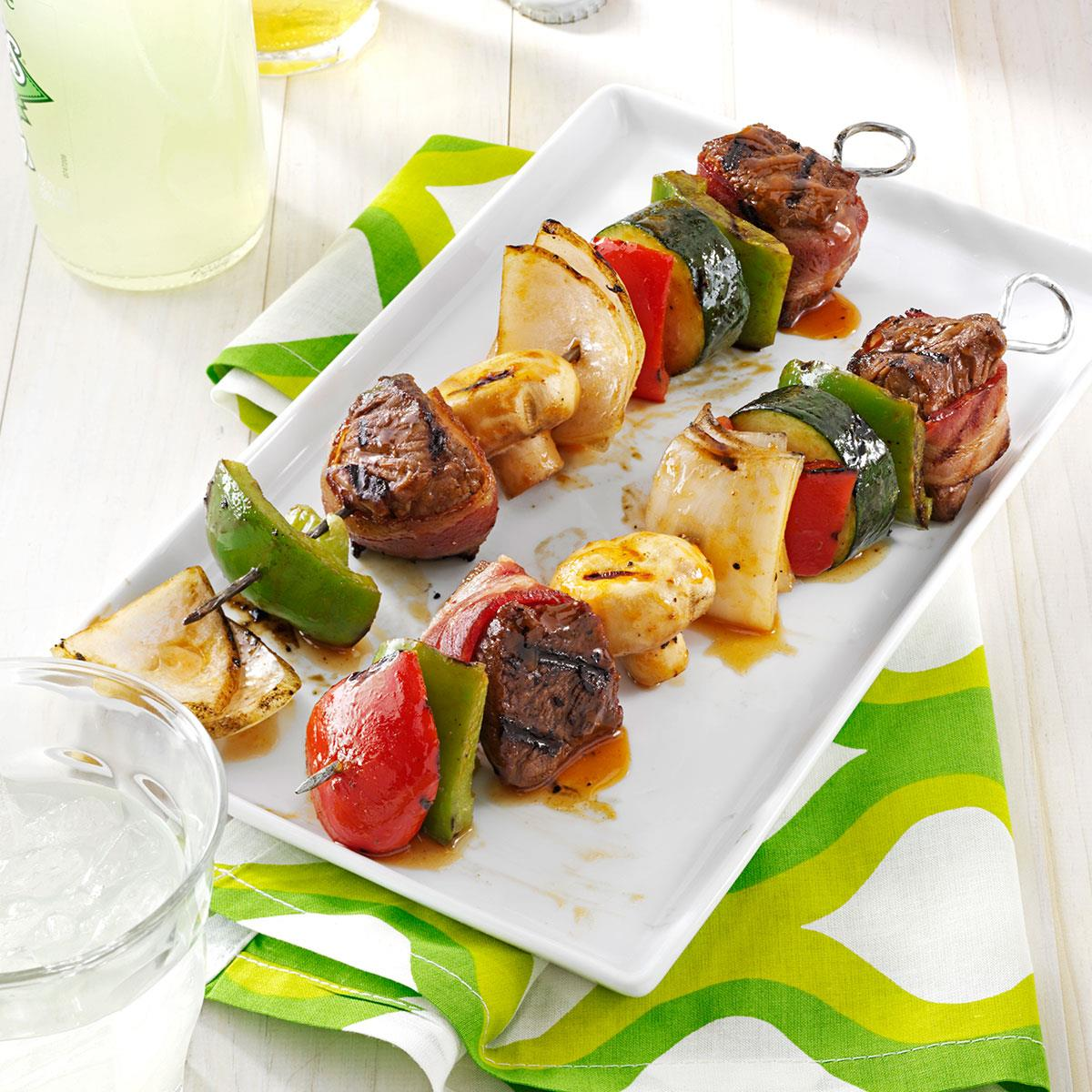 Grilled Beef Kabobs