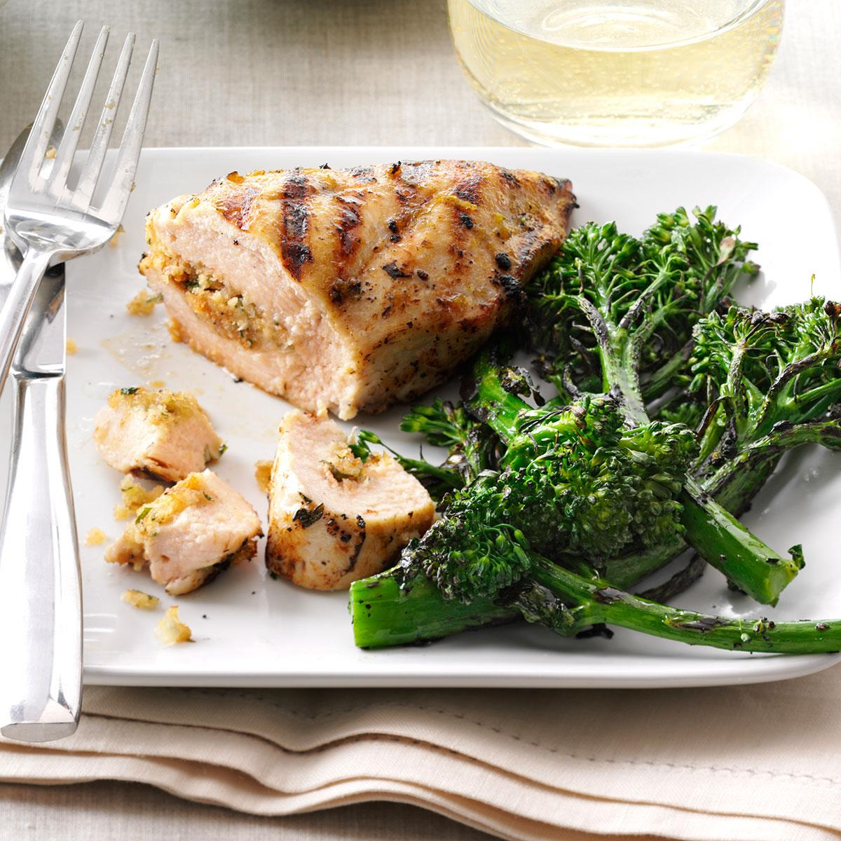 Grilled chicken breast dinner recipes