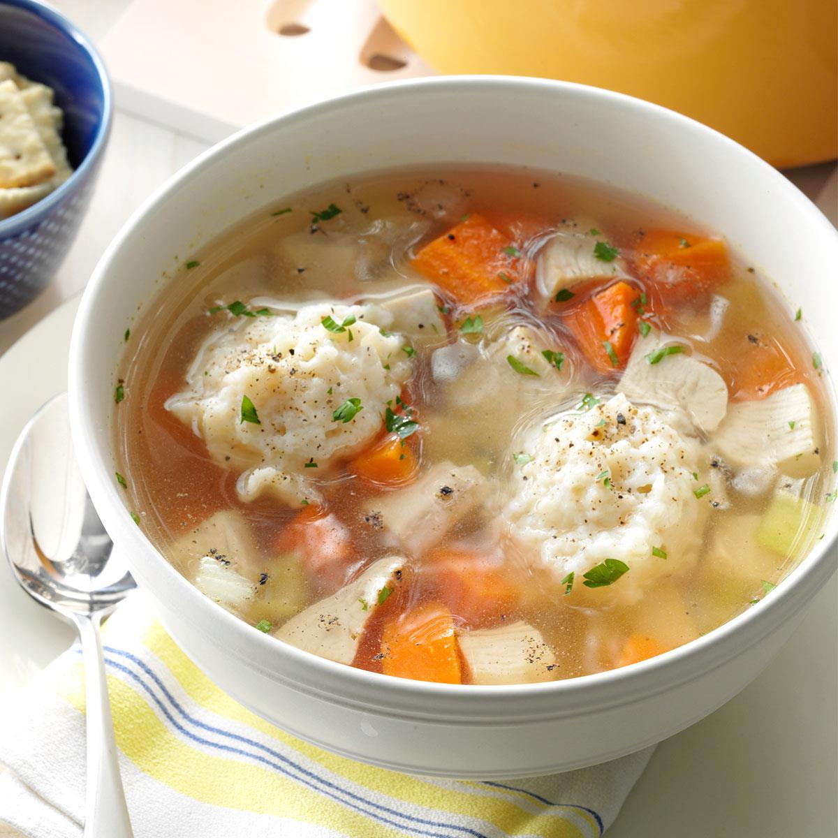 4 best recipes of soup with dumplings and the secrets of the hostess