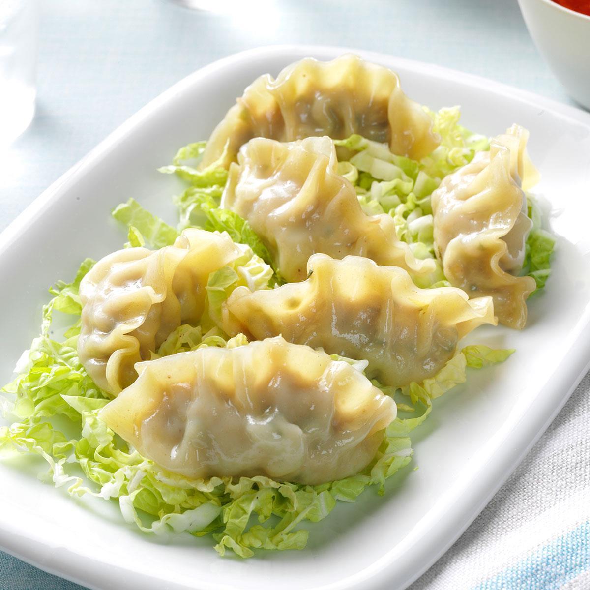 Pressure-Cooker Healthy Steamed Dumplings