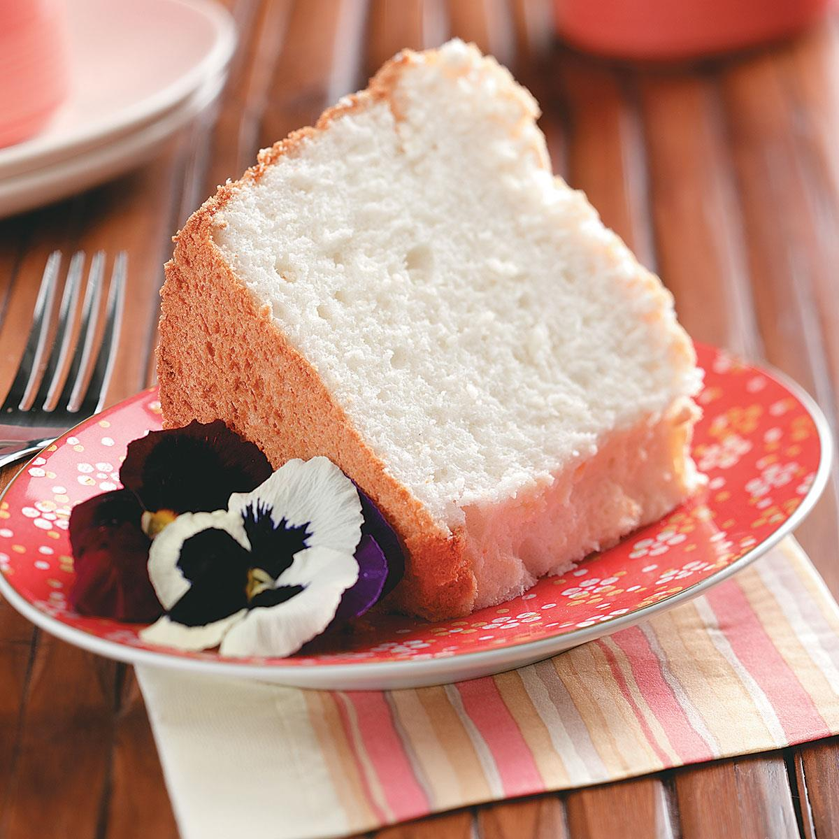 Heavenly angel food cake recipe taste of home forumfinder Image collections