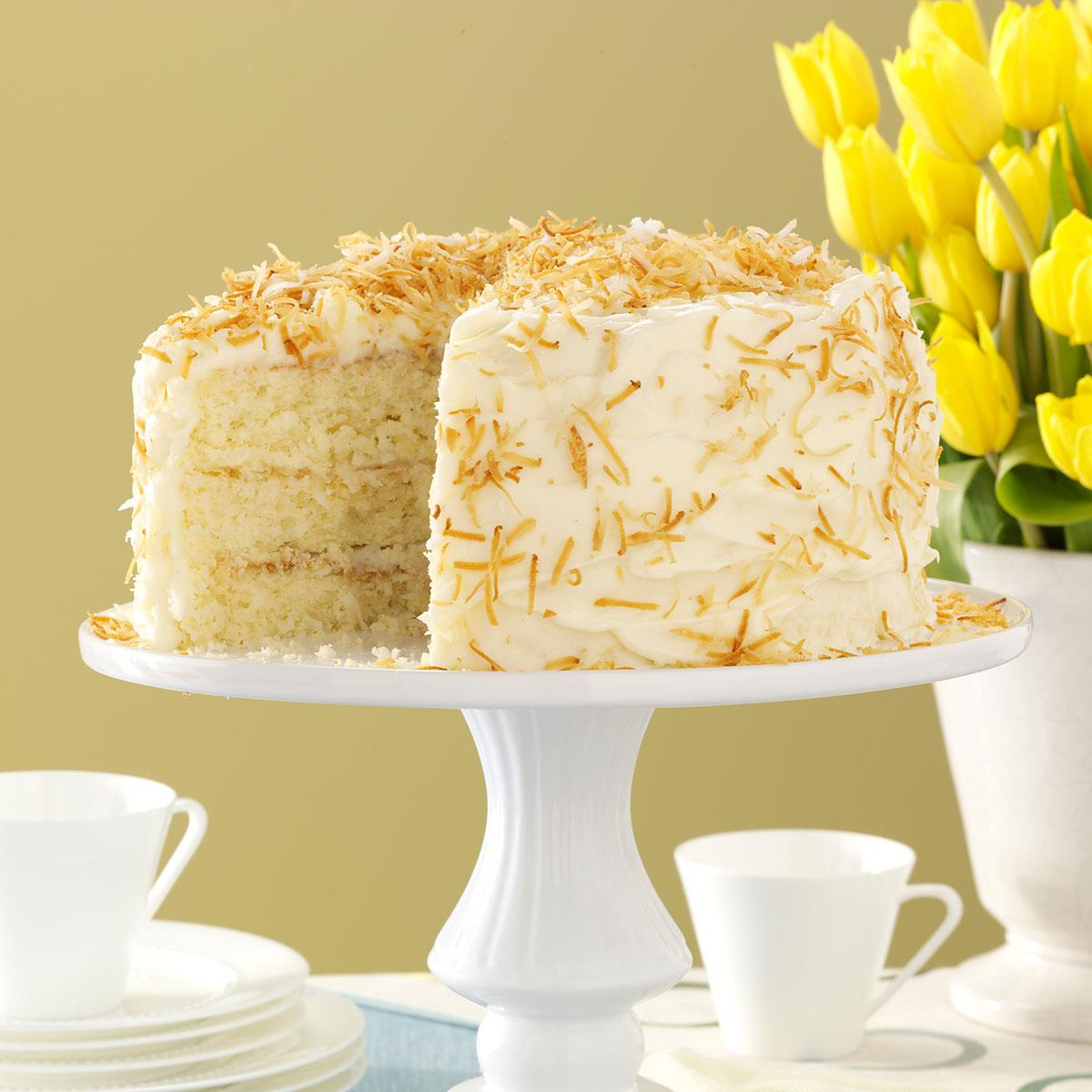 Incredible Coconut Cake Taste Of Home