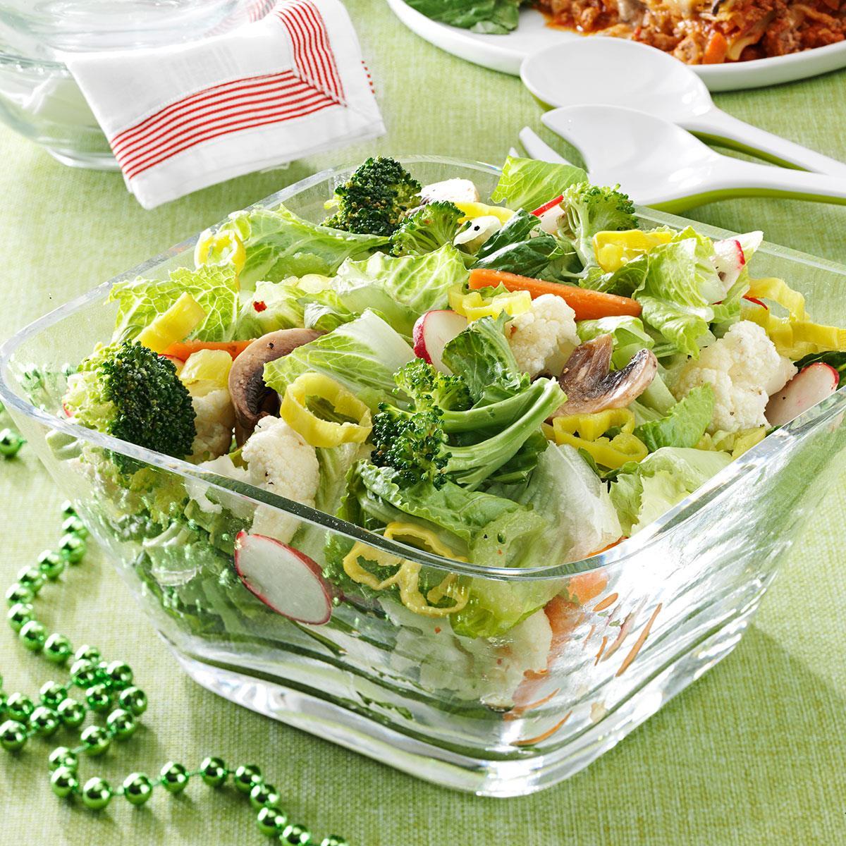Italian veggie salad recipe taste of home forumfinder Images