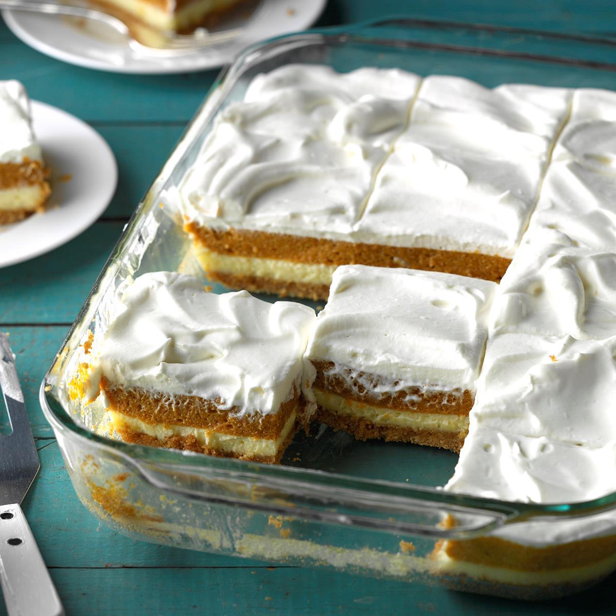 Pumpkin Pie Dessert Lasagna: Pumpkin Layered Dessert