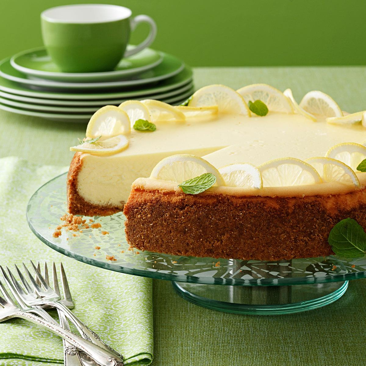 Lemon Dream Cheesecake Recipe Taste Of Home