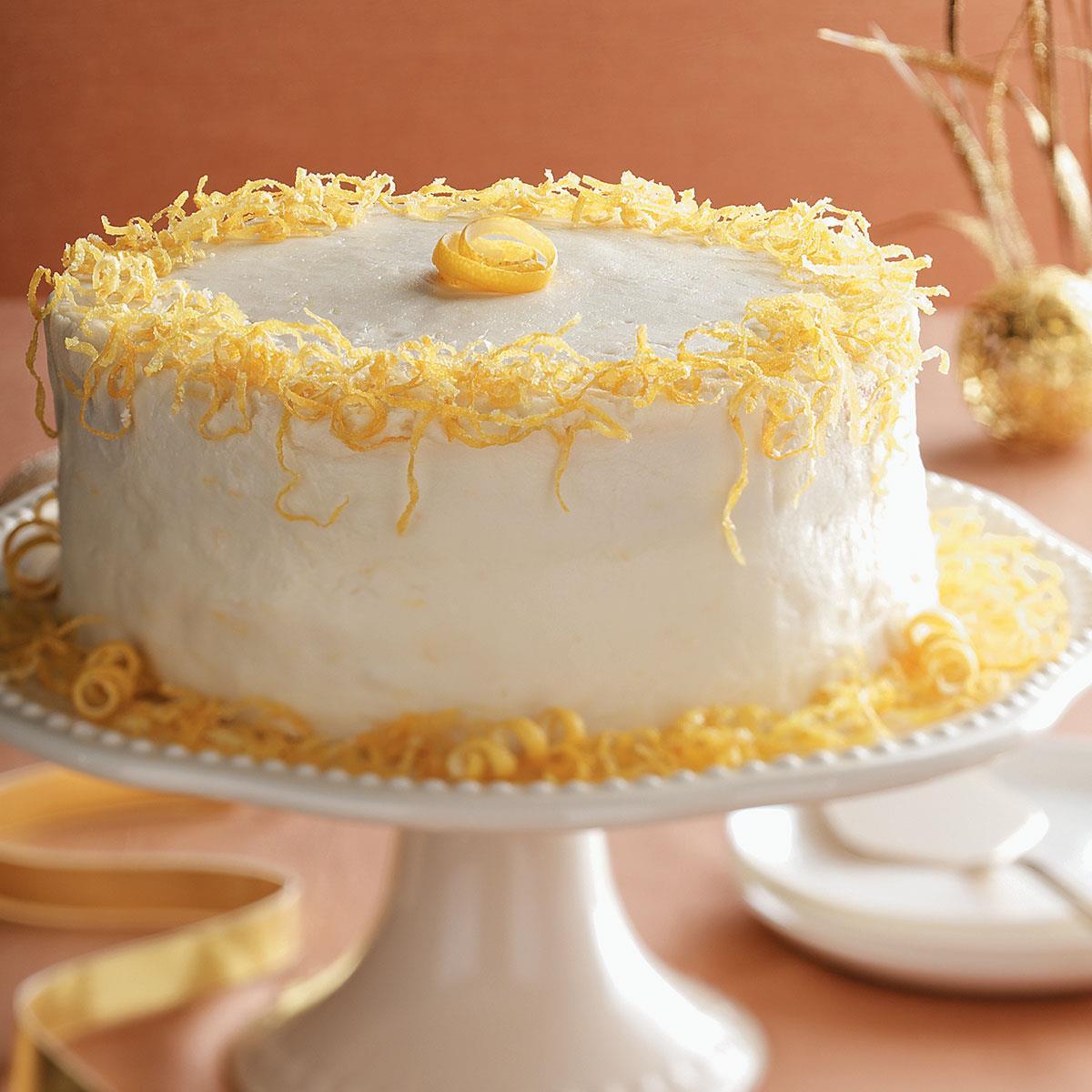 Lemon Ricotta Cake Taste Of Home