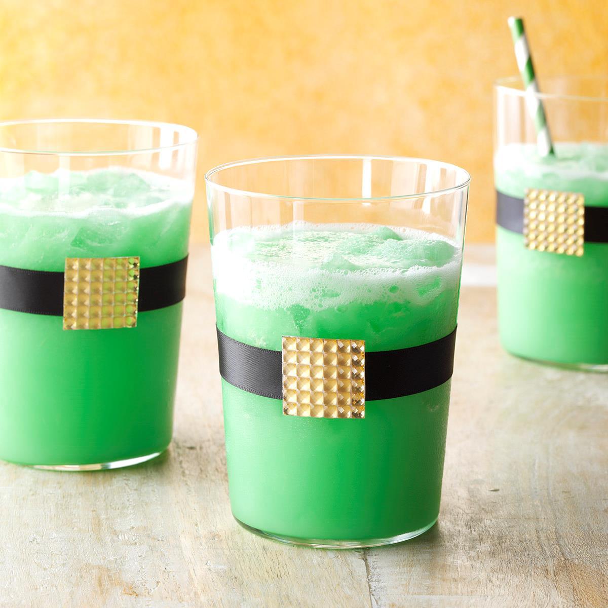 Leprechaun Lime Drink Recipe Taste Of Home
