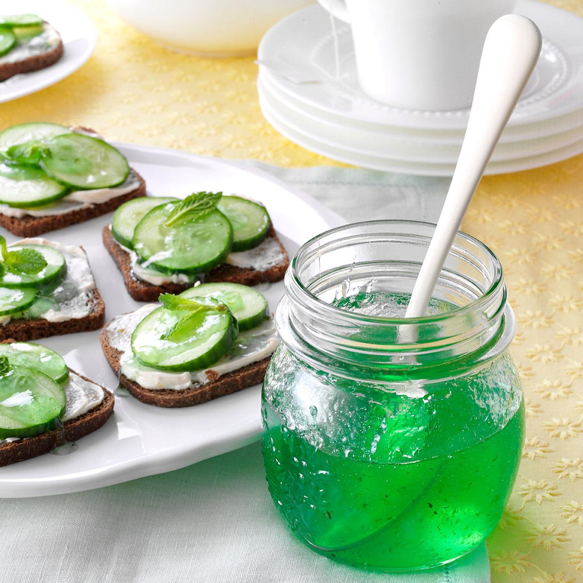 Lime Mint Jelly Recipe | Taste of Home