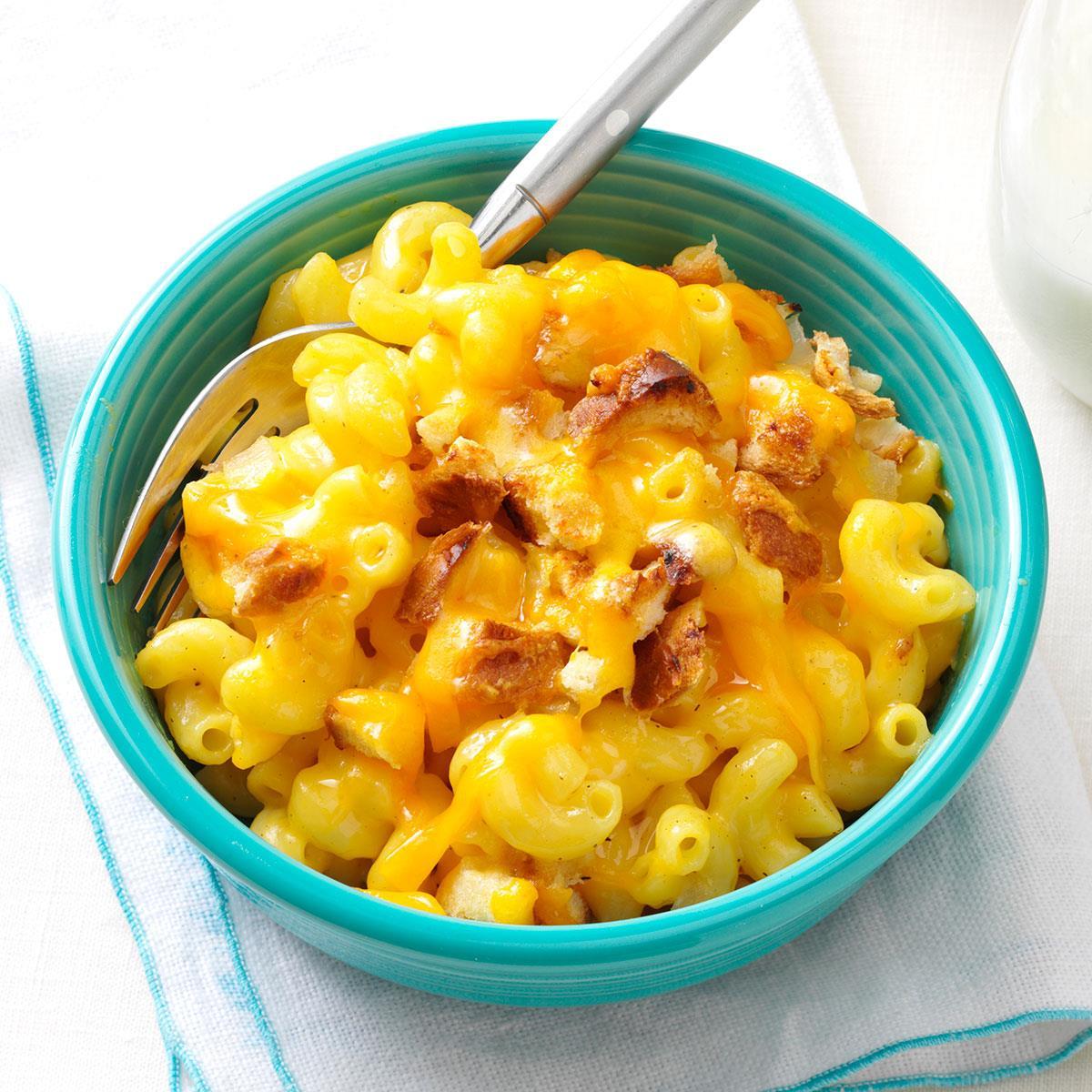 Makeover Creamy Mac Cheese Recipe