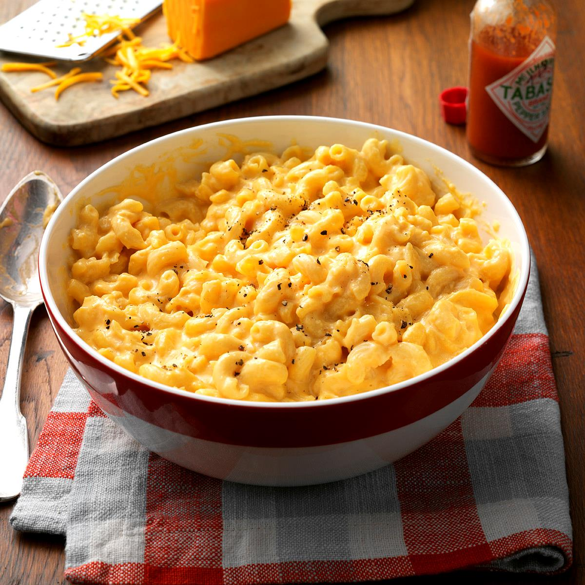 Makeover slow cooked mac n cheese recipe taste of home forumfinder Gallery