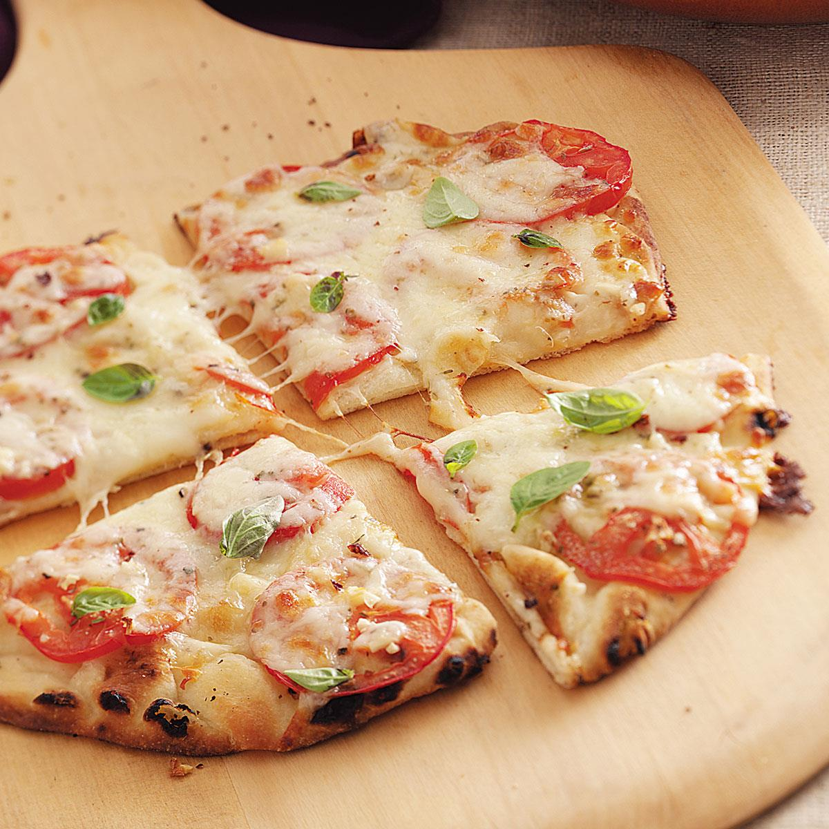 Margherita Pita Pizzas Recipe