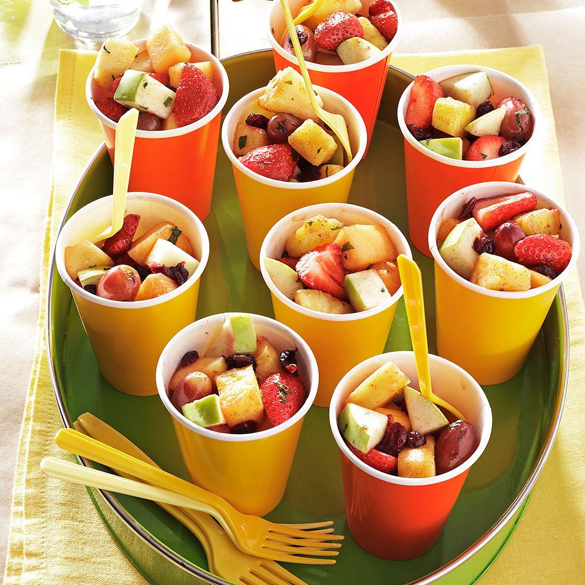 minted fresh fruit salad recipe taste of home