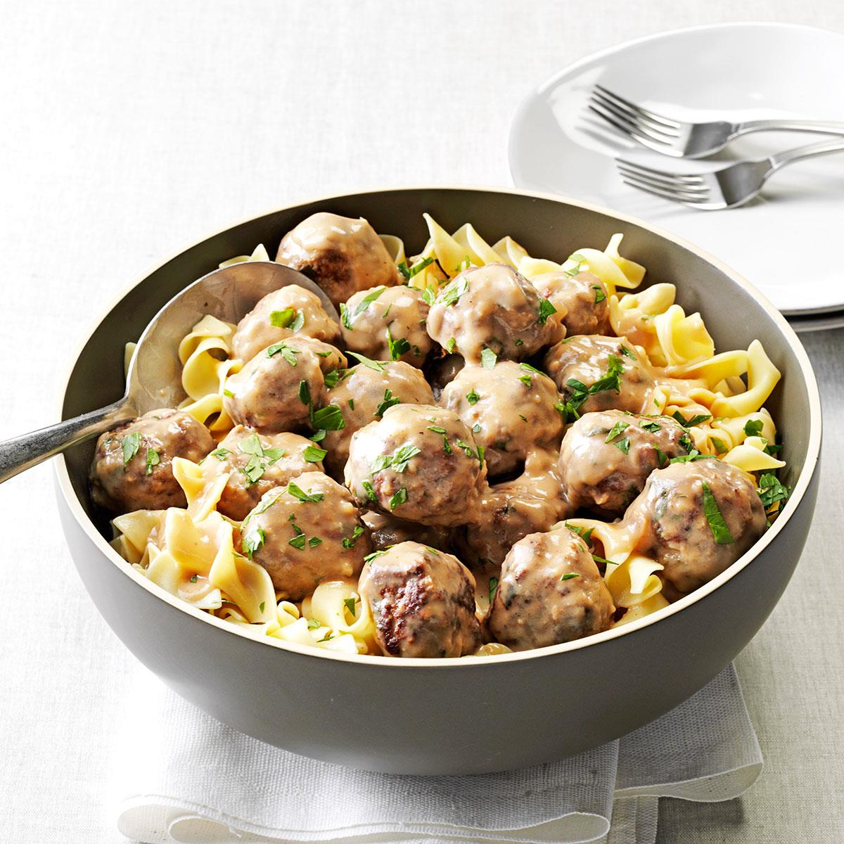 Moms swedish meatballs recipe taste of home forumfinder Image collections