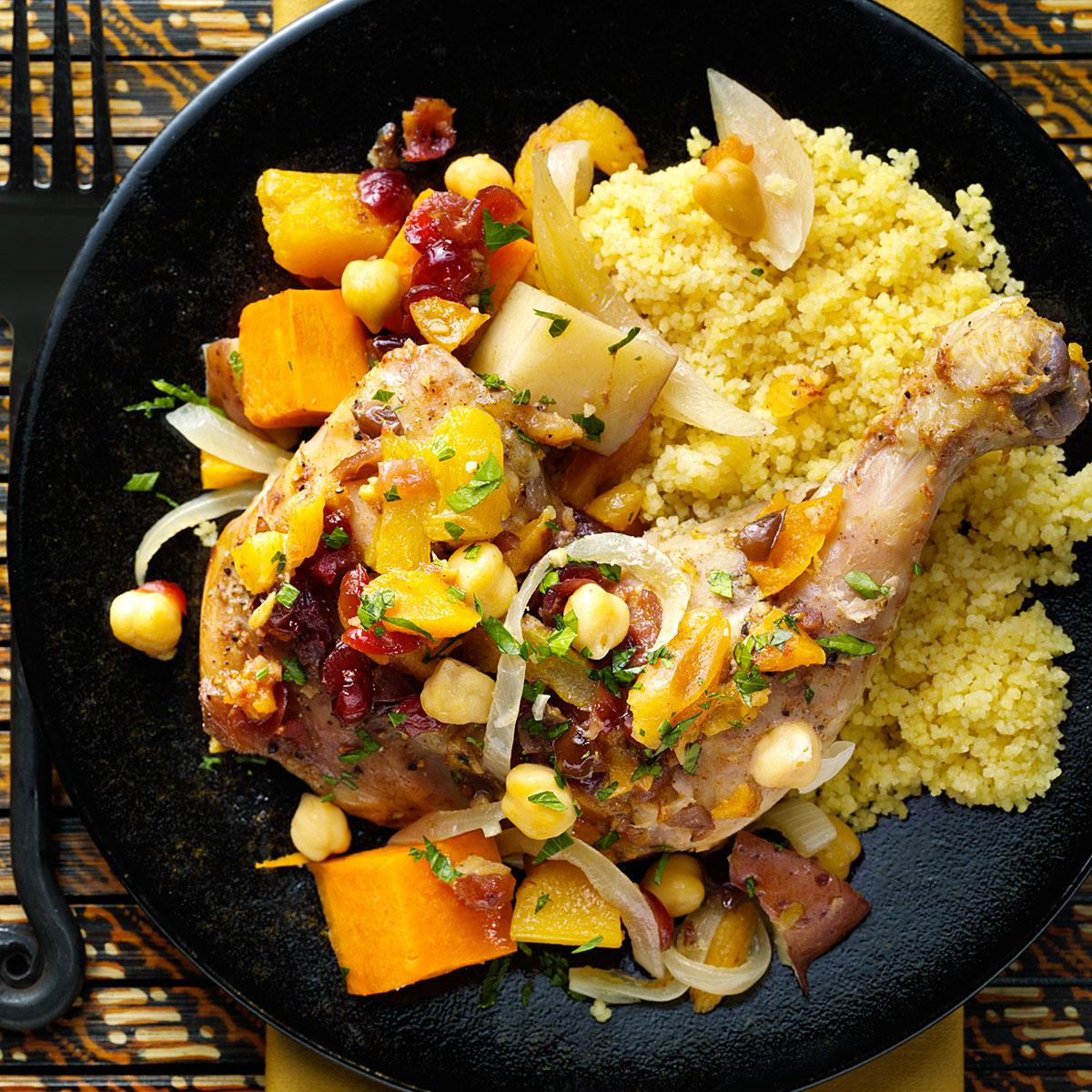 Moroccan vegetable chicken tagine taste of home forumfinder Images
