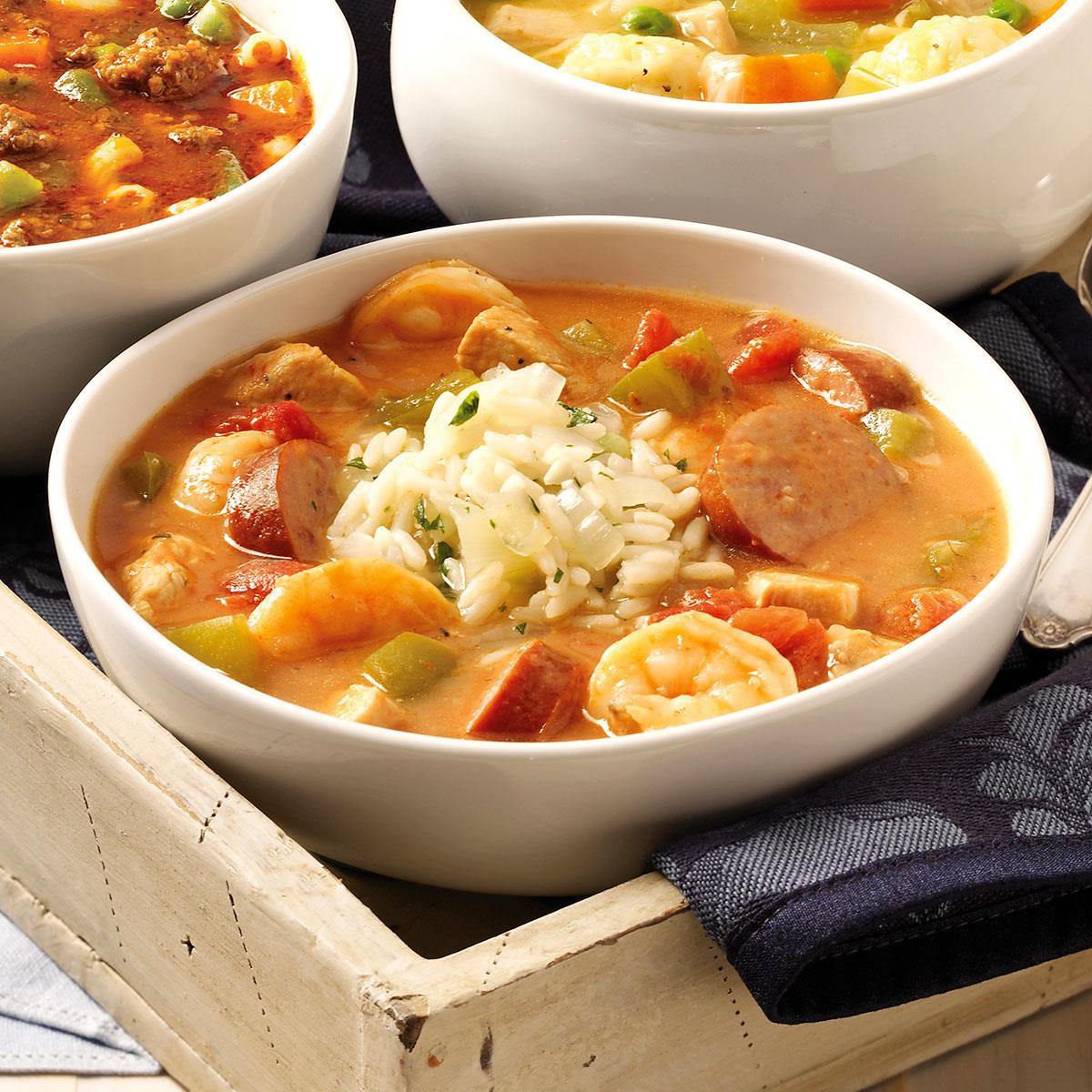 New orleans gumbo recipe taste of home forumfinder Images