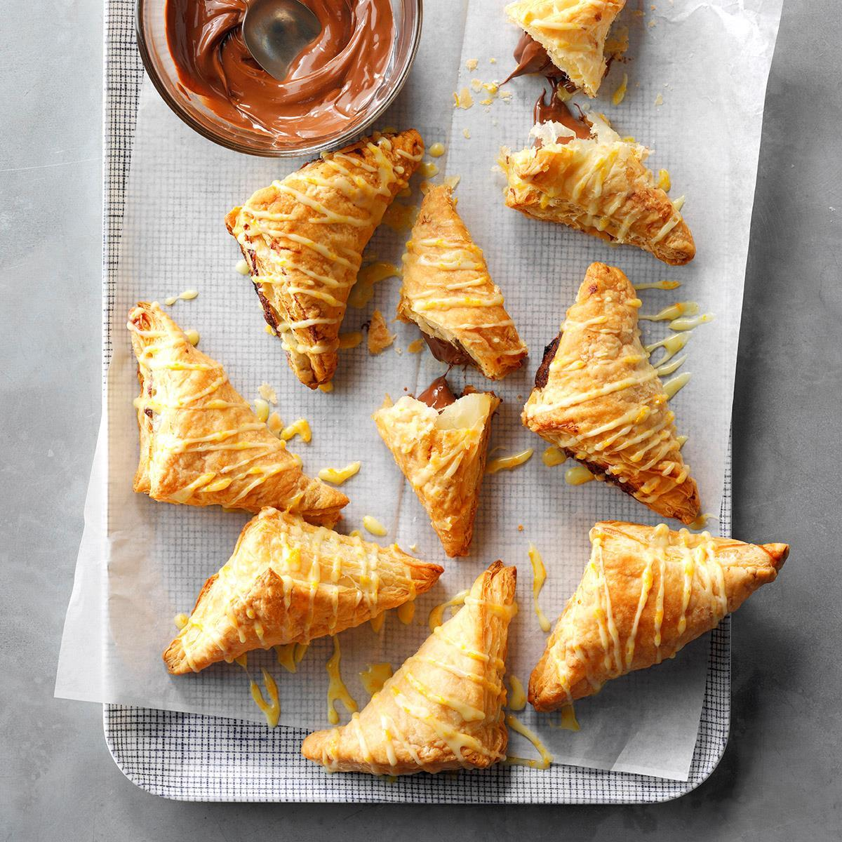 Nutella Hand Pies Recipe Taste Of Home