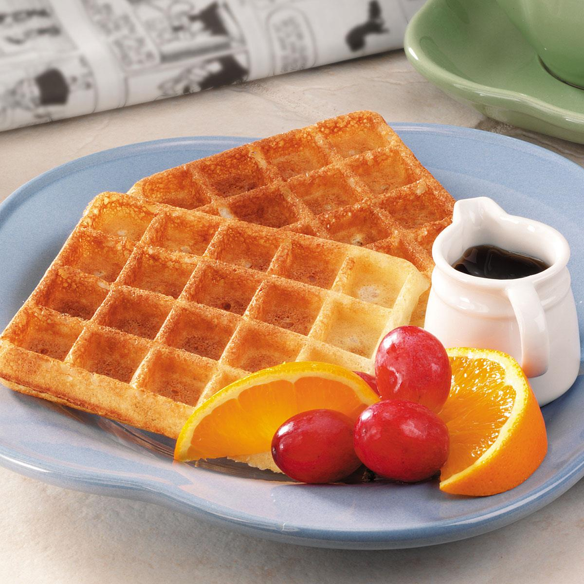 Overnight yeast waffles recipe taste of home forumfinder Gallery