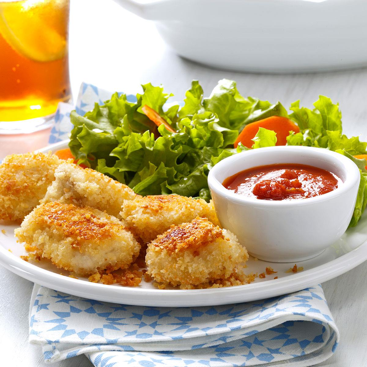 Parmesan chicken nuggets taste of home forumfinder Image collections