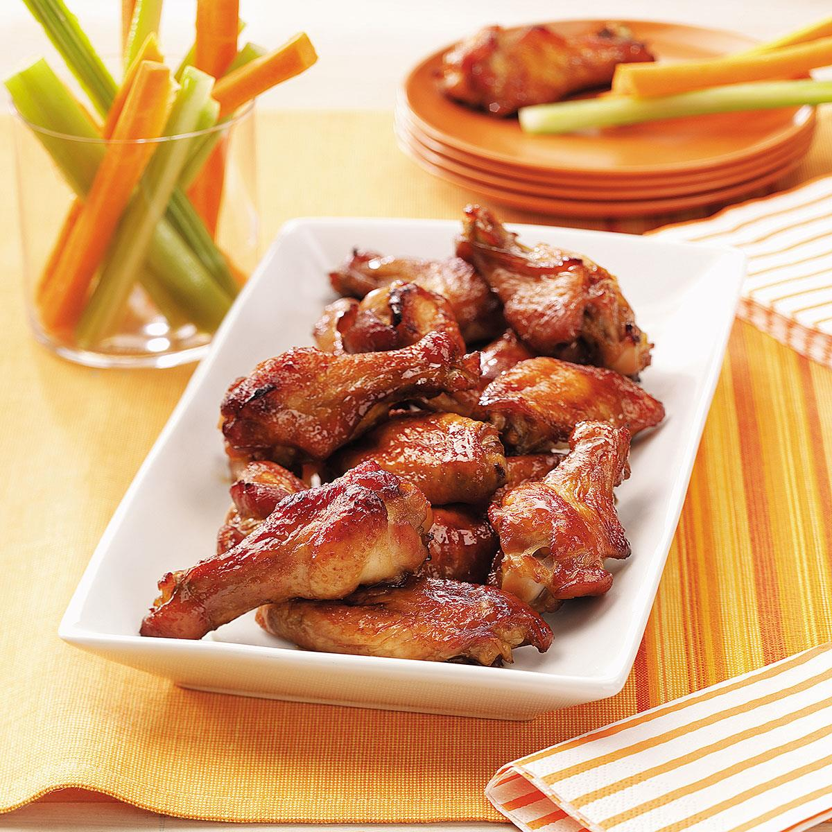 Party chicken wings recipe taste of home forumfinder Gallery