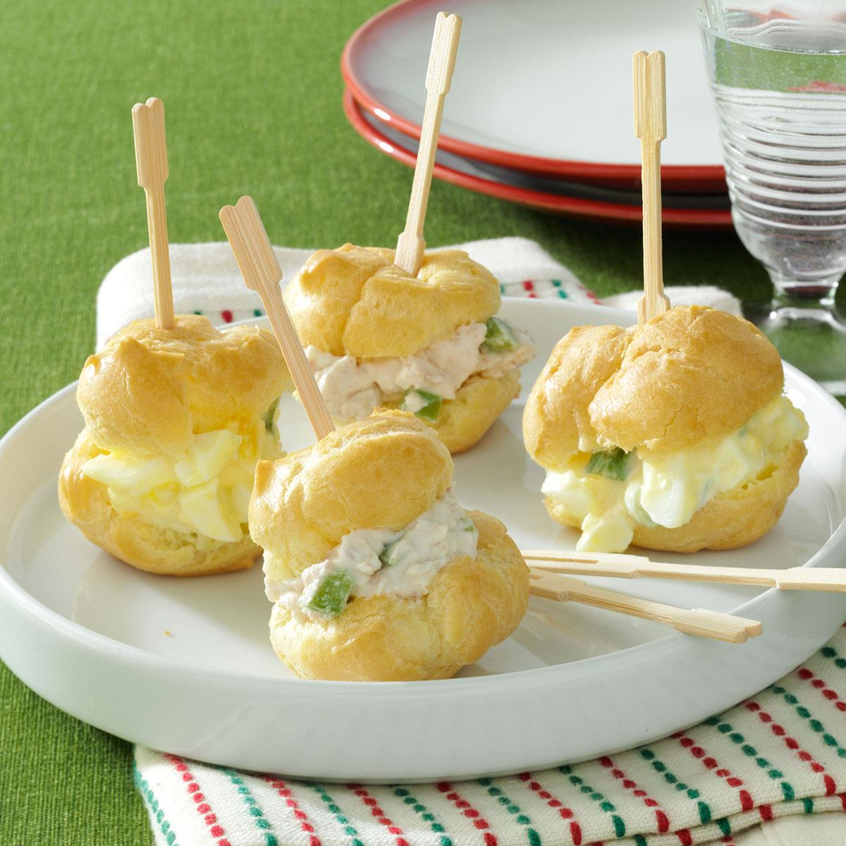 Party puffs recipe taste of home forumfinder Image collections