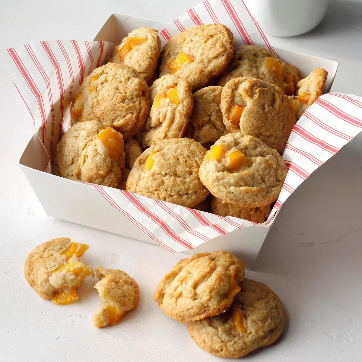 Peach Cobbler Cookies