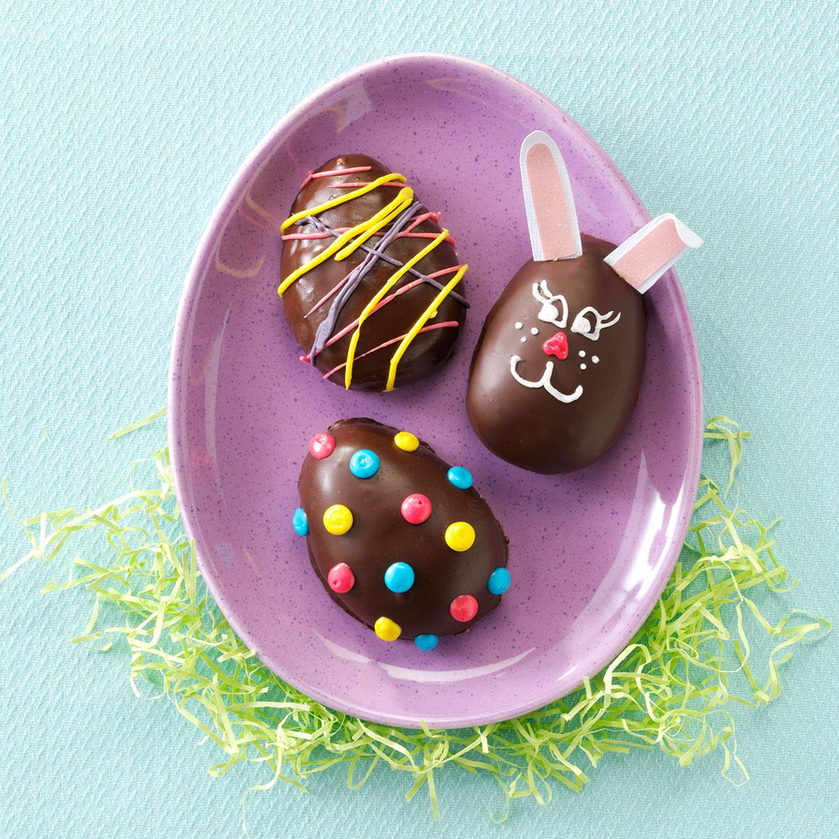 Peanut butter easter eggs recipe taste of home negle Choice Image