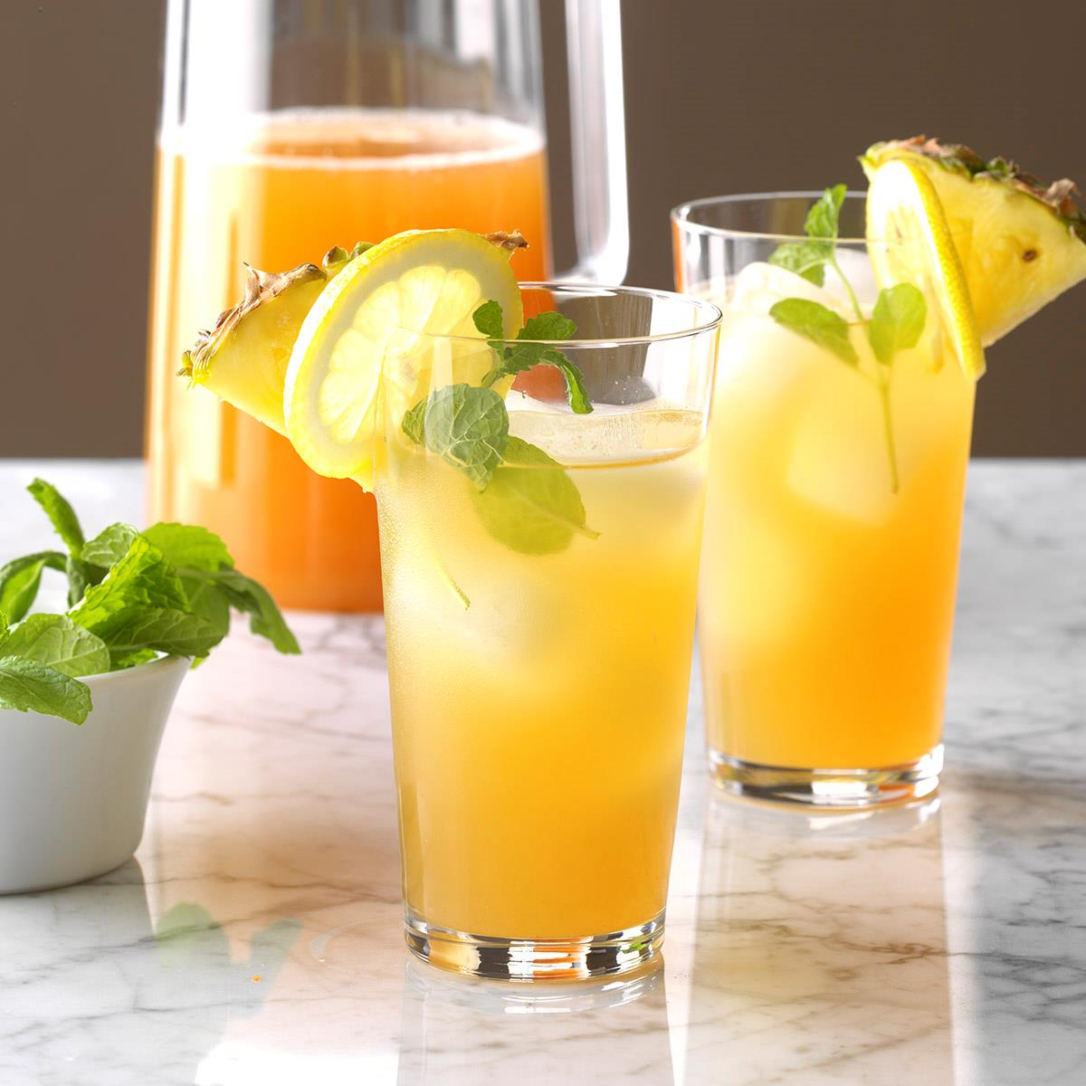 Resultado de imagem para pineapple tea