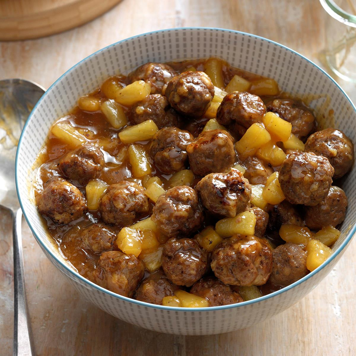 Polynesian meatballs recipe taste of home forumfinder Choice Image