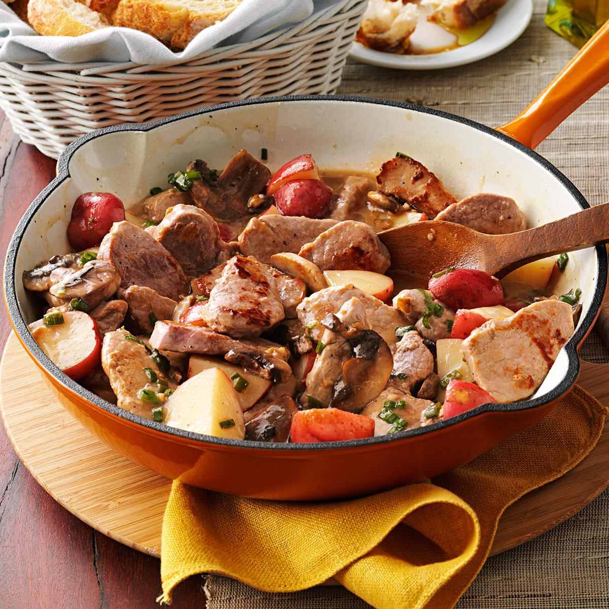 Pork potato supper recipe taste of home forumfinder Image collections