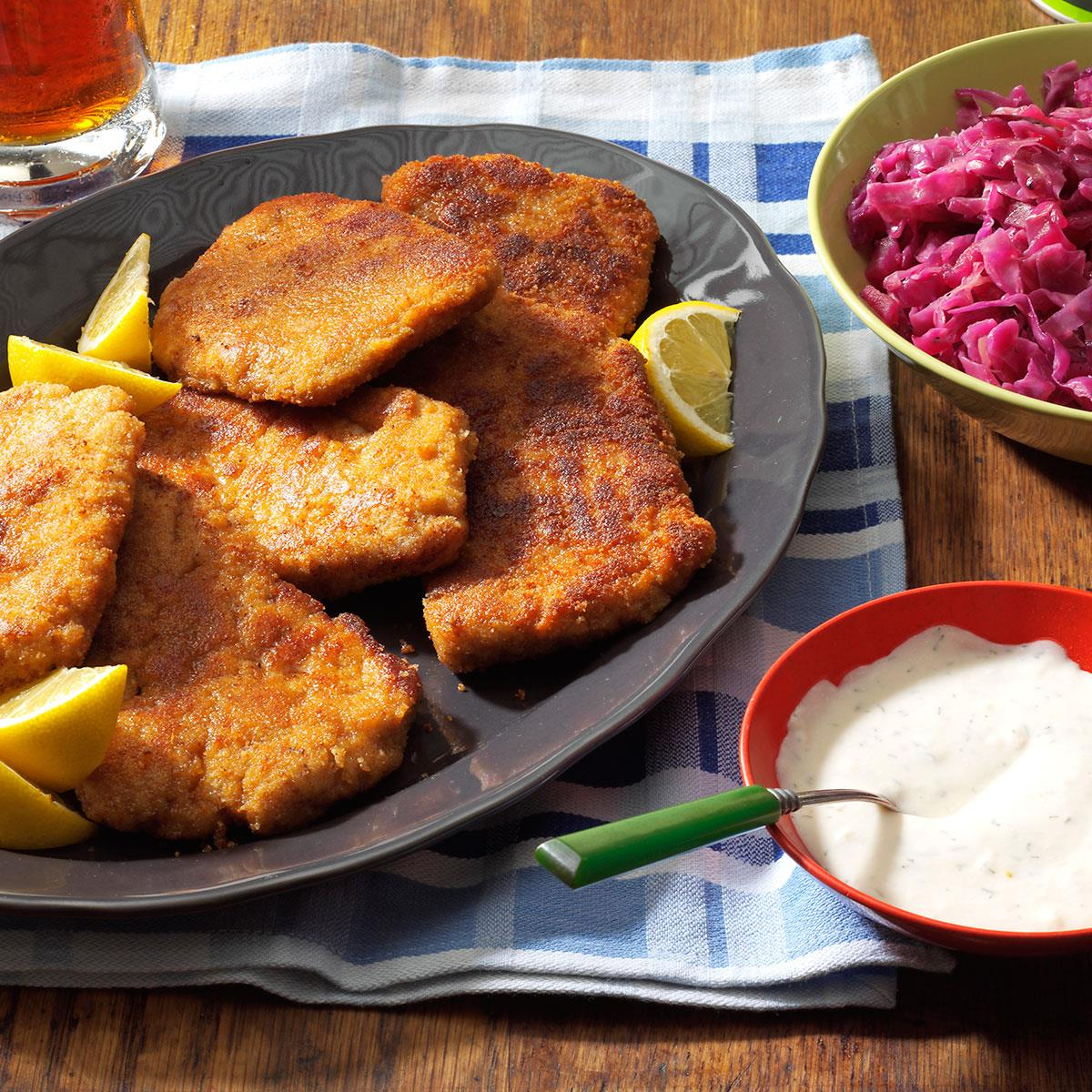 Pork Schnitzel - for those who are very hungry 13