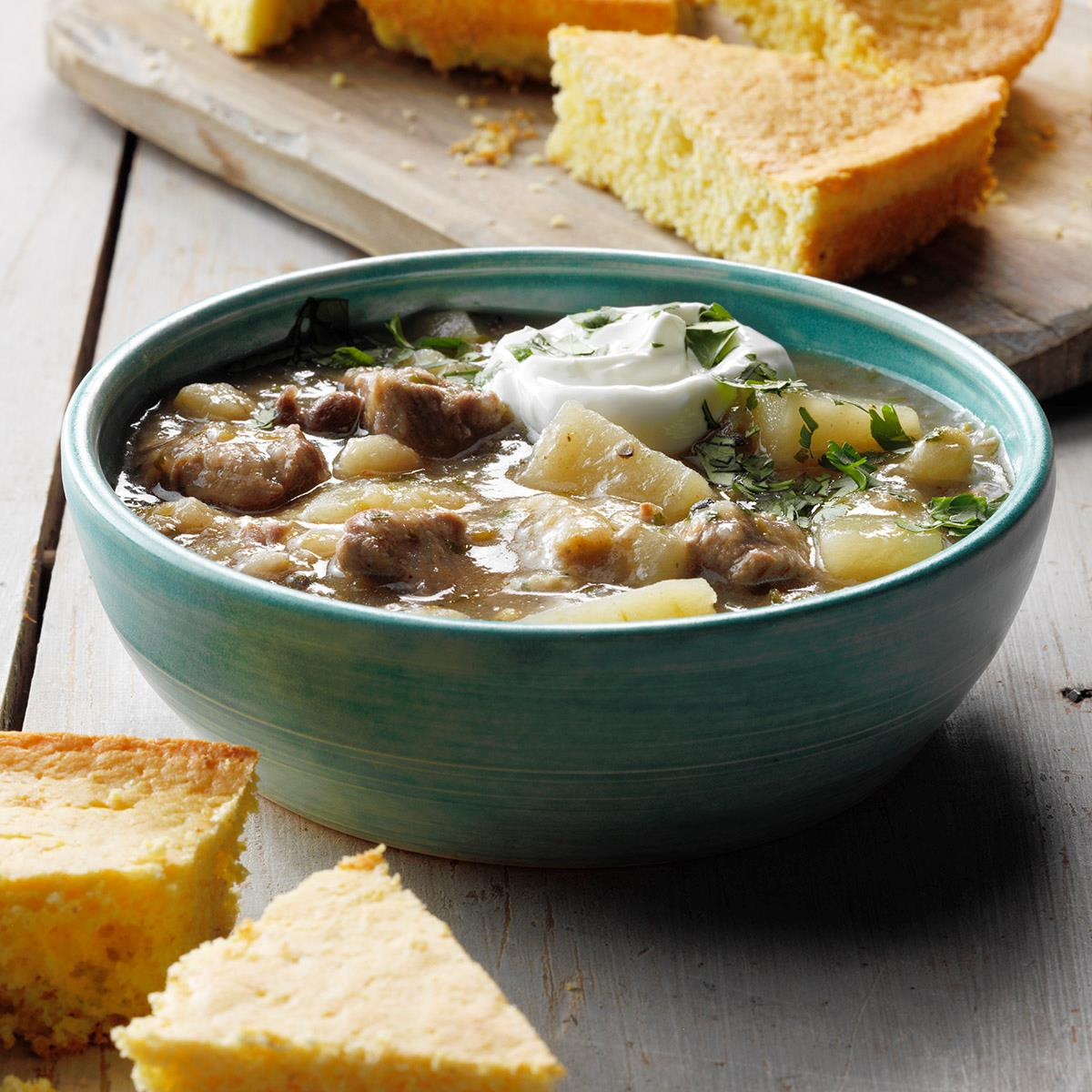 Pork and Green Chile Stew