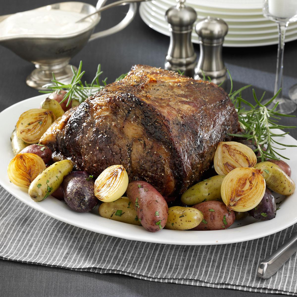 prime rib with horseradish sauce recipe taste of home