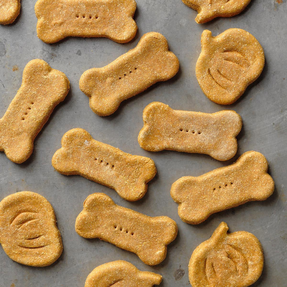 Pumpkin Ginger Dog Biscuits