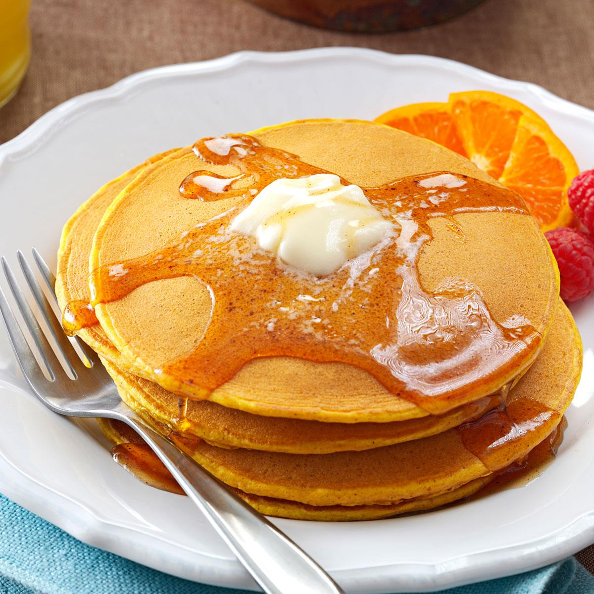 Image result for pancakes with syrup
