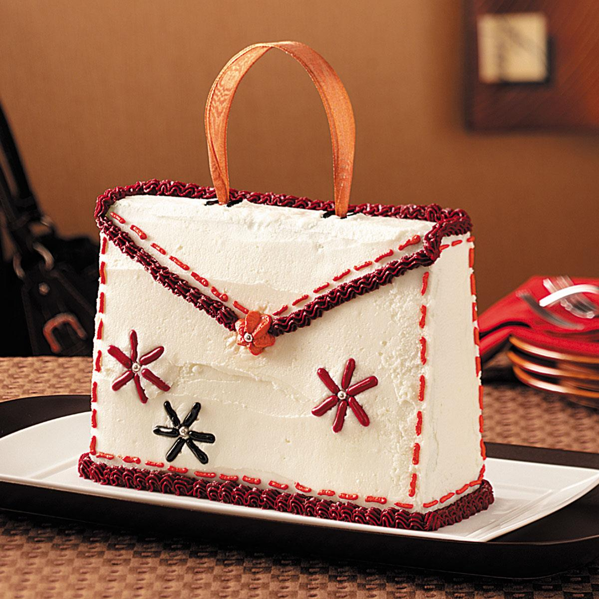 Purse Cake Recipe Taste Of Home