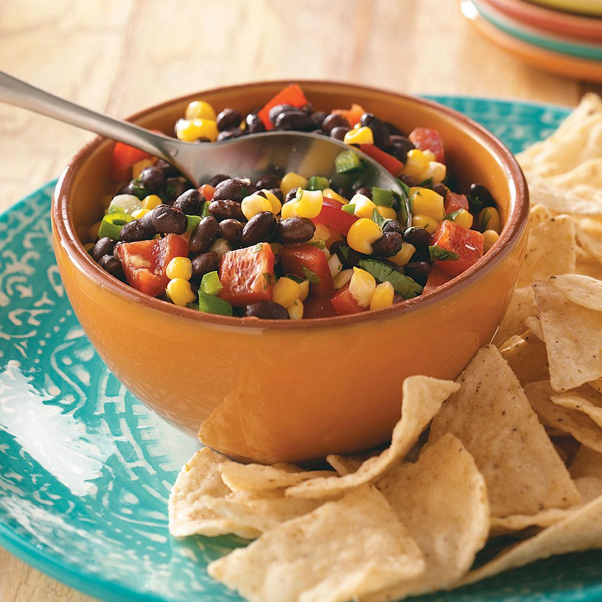 Quick and easy corn salsa recipe taste of home forumfinder Image collections