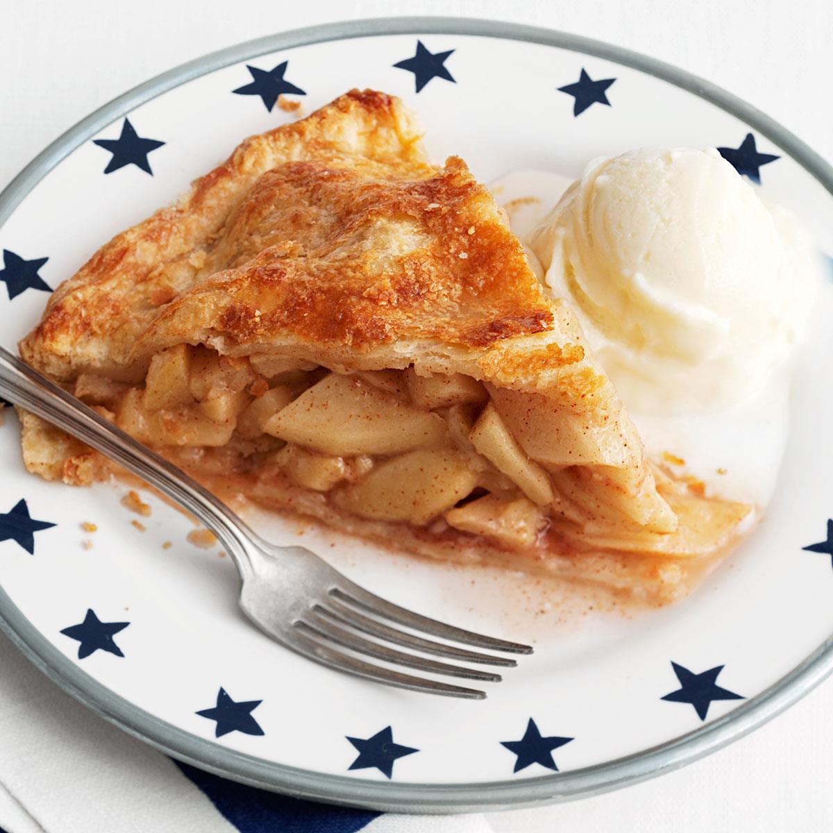 real deal apple pie recipe taste of home - Americas Test Kitchen Apple Pie