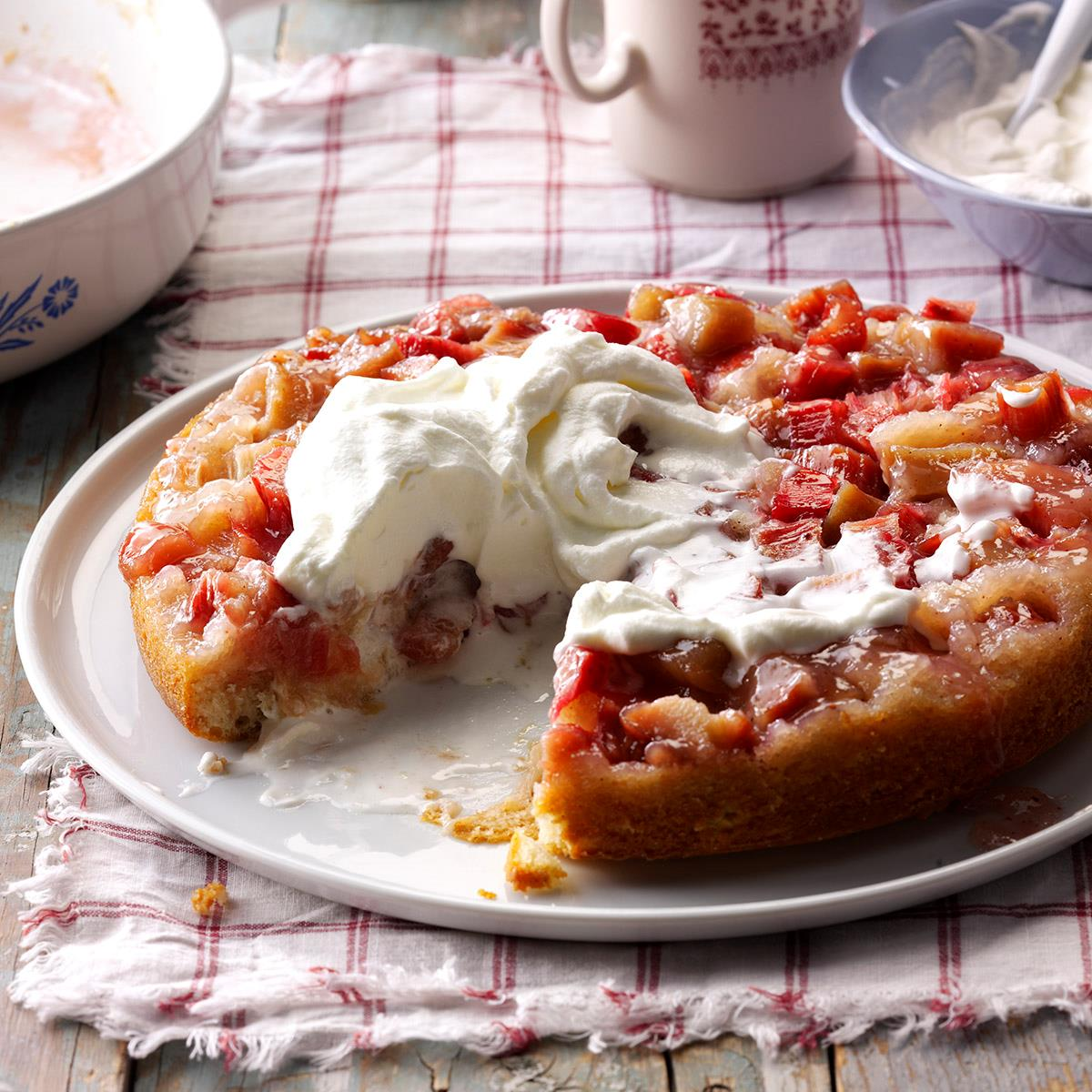 Rhubarb Upside-Down Cake recommendations